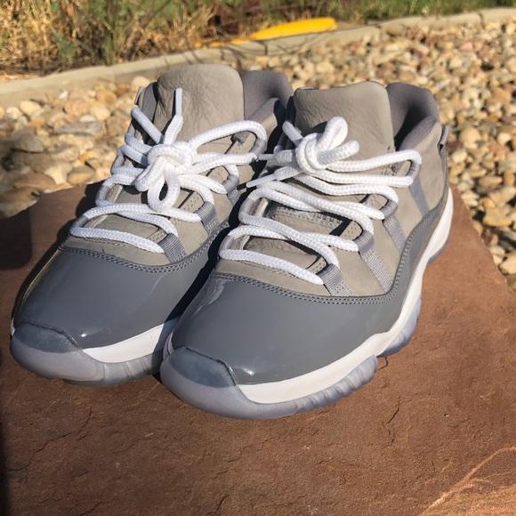 Air Jordan 1 Lows Cool Grey Size